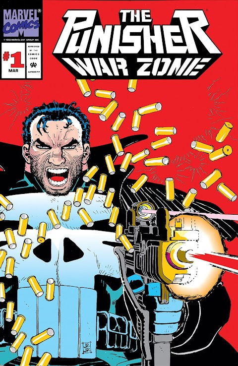 Marvel Comics The Punisher War Zone