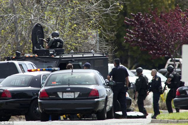 Responders: ATF and SWAT teams responded to the shooting Monday morning where a reported five people were killed by a Korean gunman thought to be in his 40s
