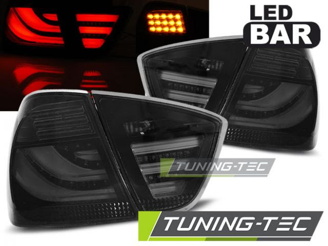 Bmw E90 Lampy Tył Led Bar Ciemne 05 08 Tte Sklep Tuningowy Protector