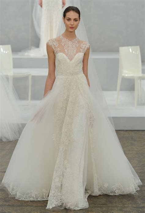 Monique Lhuillier Spring 2015 Bridal Collection   Wedding
