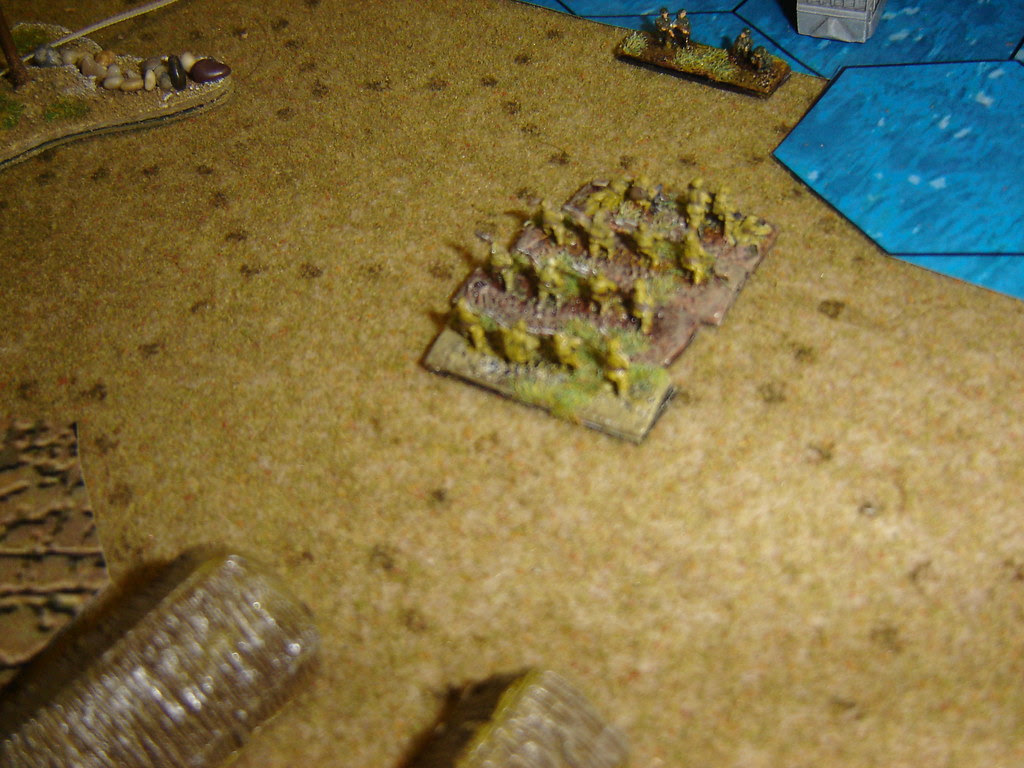 Japanese counter attack  from airtrip hangers