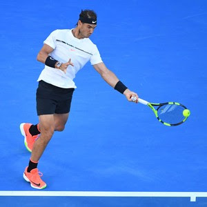 Rafael Nadal na final do Aberto da Austrália - tênis  (Foto: Getty Images)
