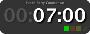 3-2-1(Dashboard timer widget for OS X)
