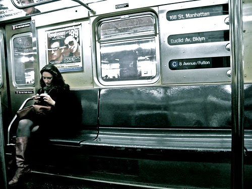 Random People NYC Sub Way