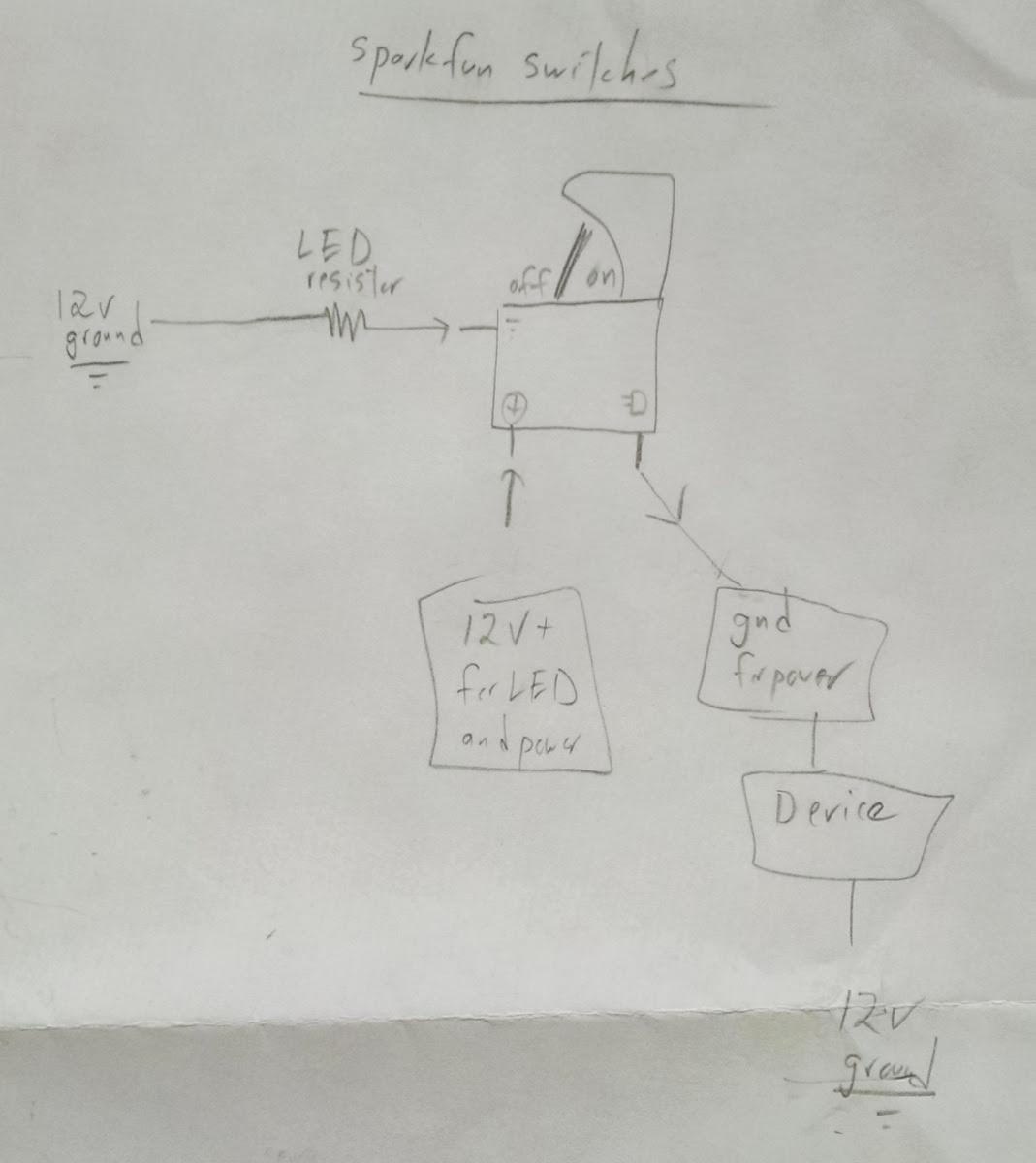 12v Illuminated Switch Wiring Diagram