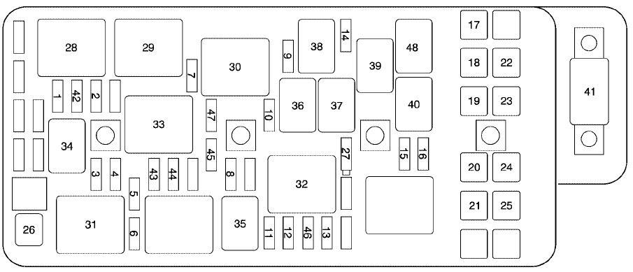 2002 chevy malibu fuse box diagram