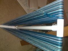 SW merino blue stripes
