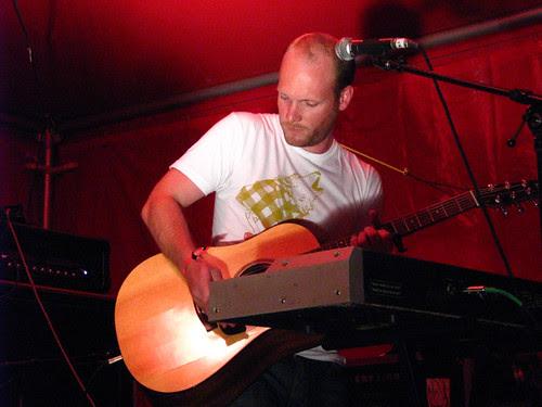 Nils Edenloff of RAA @ Virgin Festival: photo by Michael Ligon