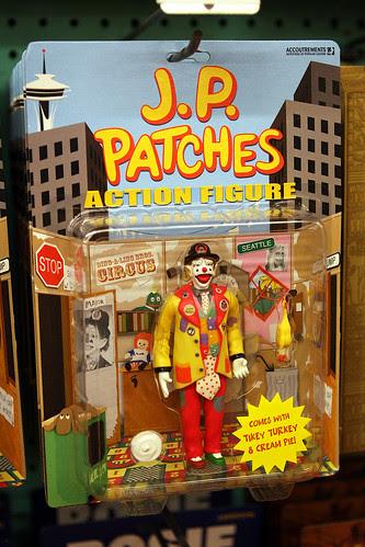 JP Patches Action Figure