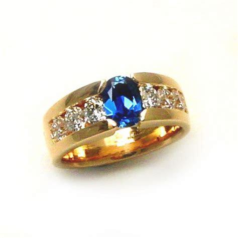 Yogo Sapphire Ring   TamRon Jewelry