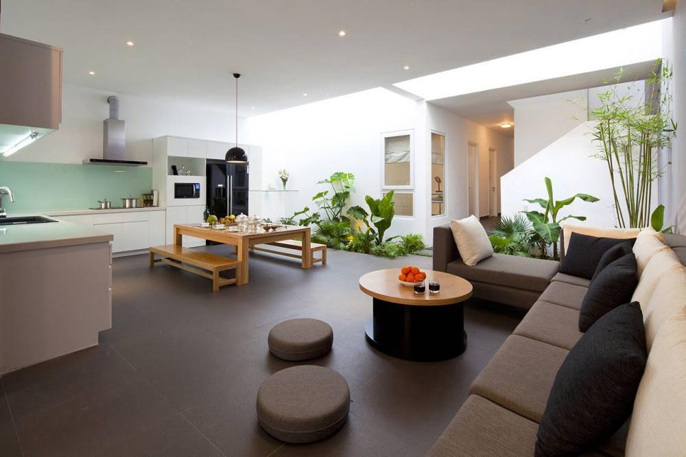 Open plan kitchen diner lounge | Interior Design Ideas.