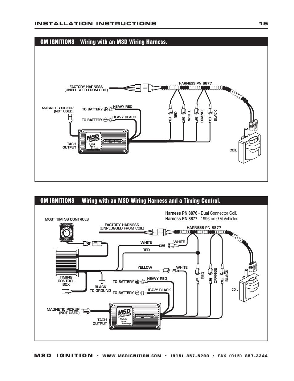Msd 7530 Wiring Diagram 911ep Super Comander Wiring Diagram Cusshman Tukune Jeanjaures37 Fr