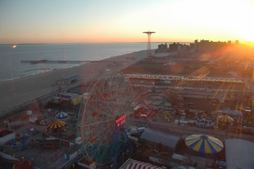 Coney at Dusk from Astro Tower