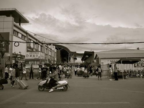 Kunming Taxiwindow (big bus station)
