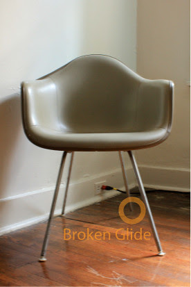 Replacing Chair Feet on Eames for Herman Miller Molded Chairs with H Bases