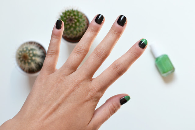 Easy nail art essie lime green color called mojito madness swatch. nails of today ikea cactaceaa