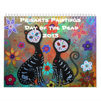 Prisarts Day of the Dead Collection 2013