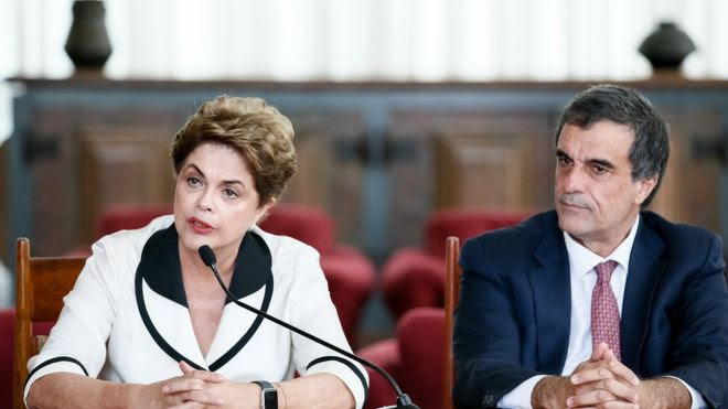 Dilma e Cardozo