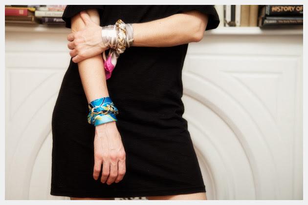 Scarf Chain Wrap Bracelet DIY Photo 1