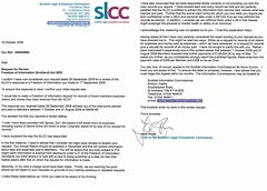 SLCC FOI expenses review