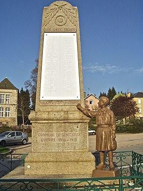Image illustrative de l'article Monument aux morts de Gentioux