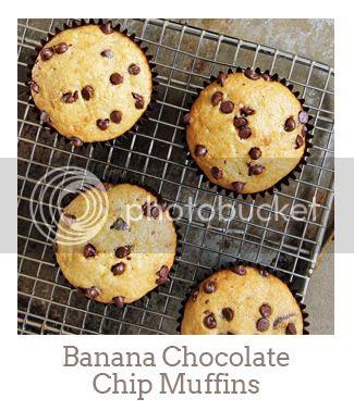 """""""Banana Chocolate Chip Muffins"""""""