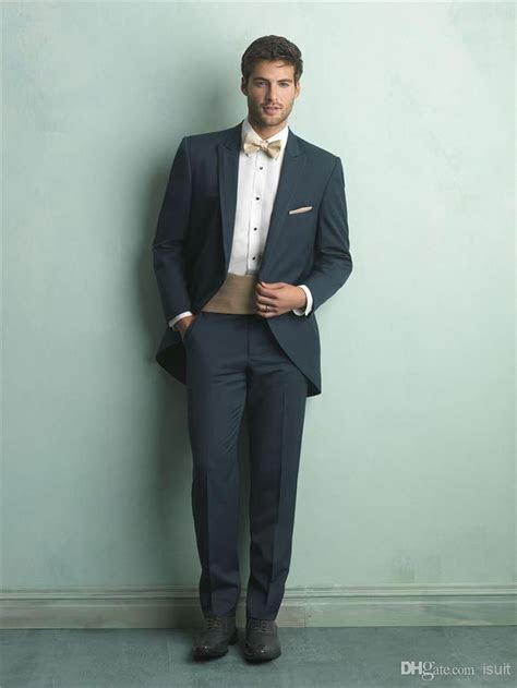 Discount Tailor Suits Tux Groom Tuxedos Cheap Bridegroom