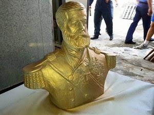 busto do Almirante Barroso será ianugurado na cidade de Riachuelo (Foto: Marinha do Brasil)