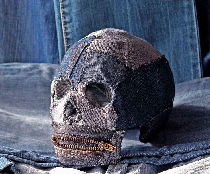 Denim Skull !!