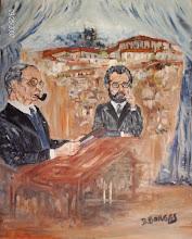 Paulo Quintela e Cristóvão de Aguiar
