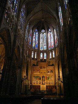 Altar Mayor, Catedral de León