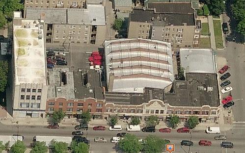 Metro Theatre Building, before