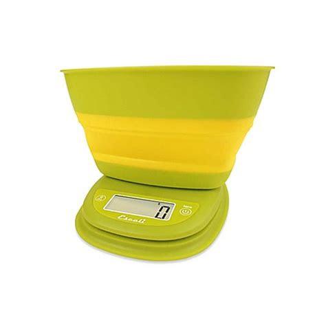 escali  lb capacity pop  digital food scale bed