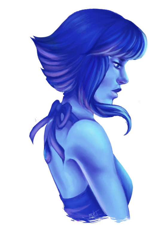 It's been a while since I drew Lapis so