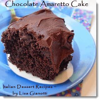 Chocolate Amaretto Cake   Chocolate Cake Mix Plus Amaretto!