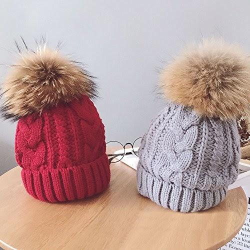 Damen Pelzmütze Wintermütze Futrzane Mütze Russenmütze Warme Fell Hüte Skimütze