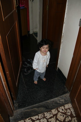 My Grand Daughter Nerjis  Is Angry As I Did Not Take Her To Shoot The Bakra Qurbani by firoze shakir photographerno1