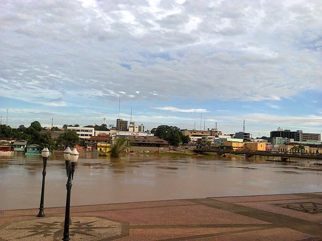 Rio Acre_março 2013 - Calçadão da Gameleira