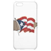 Puerto Rican Flag & Island iPhone 5C Case