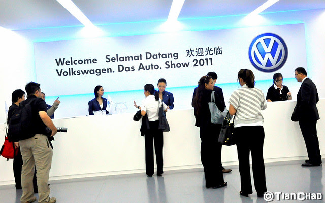 Volkswagen Das Auto Show 2011 Bukit Jalil @ The Dome