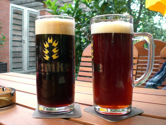 Original on the right - porter on the left