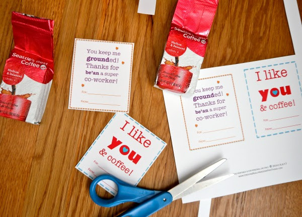 Valentine Ideas For Coworkers Craft