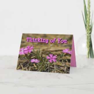 Five Petal Wildflower card