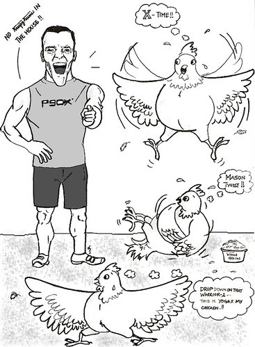 P90X Chicken by teshionx