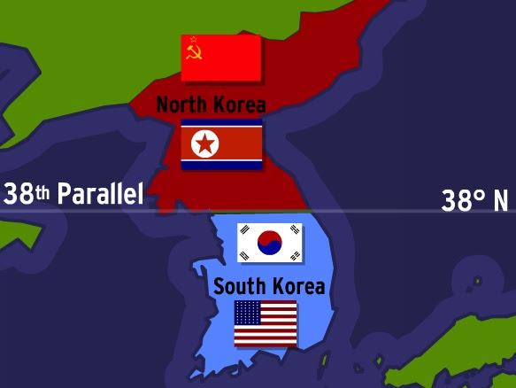 Image result for korean separation world war us ussr