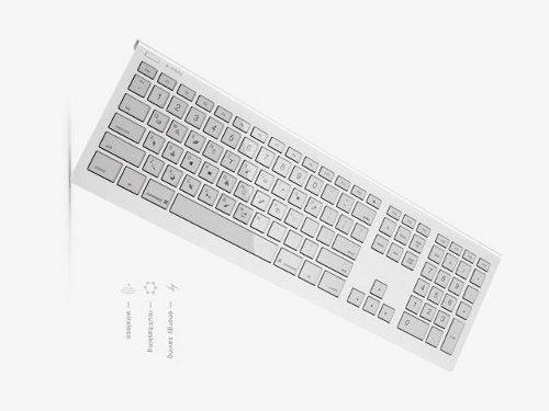 Nuevo teclado conceptual con teclas de tinta electrónica