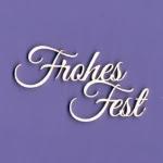 915 Tekturka napis  - Frohes Fest - Wesołych Świąt