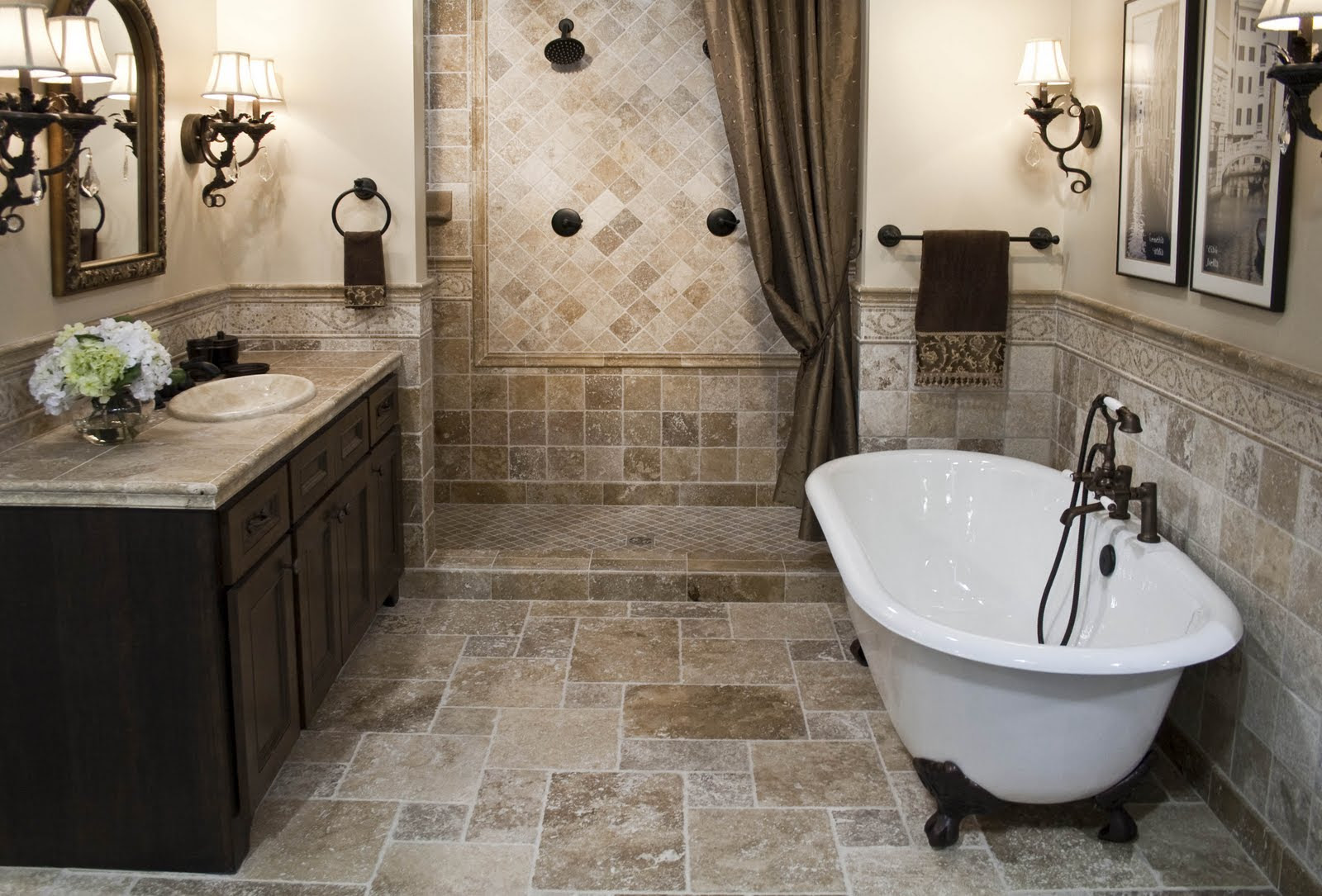 The Top 20 Small Bathroom Design Ideas for 2014 - Qnud