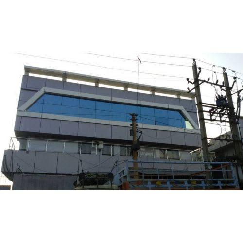 Glass Glazing Work Aluminium Structral Glazing Service Provider