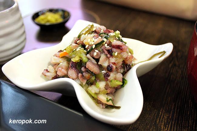 Wasabi Octopus